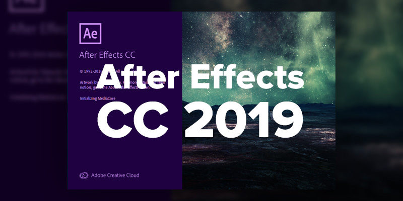 آموزش After Effects CC 2019